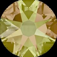 Swarovski Flatback 2088 - ss16, Crystal Luminous Green (001 LUMG) Foiled, No Hotfix, 1440pcs