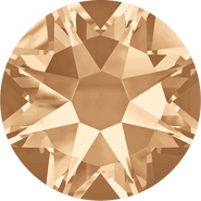 Swarovski Flatback 2088 - ss34, Crystal Golden Shadow (001 GSHA) Foiled, No Hotfix, 144pcs