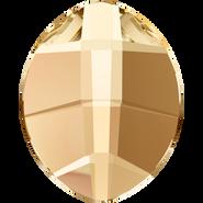 Swarovski Hotfix 2204 - 10x8mm, Crystal Golden Shadow (001 GSHA) Unfoiled, Hotfix, 144pcs