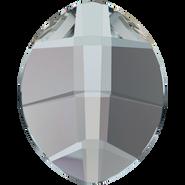 Swarovski Hotfix 2204 - 10x8mm, Crystal Silver Night (001 SINI) Unfoiled, Hotfix, 144pcs