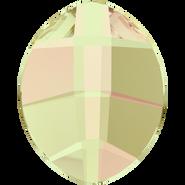 Swarovski Flatback 2204 - 14x11mm, Crystal Luminous Green (001 LUMG) Foiled, No Hotfix, 108pcs
