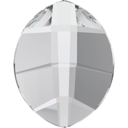 Swarovski Flatback 2204 - 6x4.8mm, Crystal (001) Foiled, No Hotfix, 360pcs