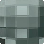 Swarovski Flatback 2493 - 10mm, Black Diamond (215) Foiled, No Hotfix, 144pcs