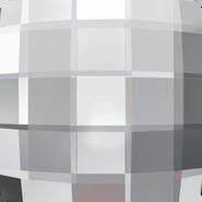Swarovski Flatback 2493 - 10mm, Crystal (001) Foiled, No Hotfix, 144pcs