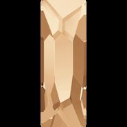 Swarovski Flatback 2555 - 12x4mm, Crystal Golden Shadow (001 GSHA) Foiled, No Hotfix, 144pcs