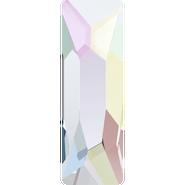 Swarovski Hotfix 2555 - 8x2.6mm, Crystal Aurore Boreale (001 AB) Unfoiled, Hotfix, 240pcs