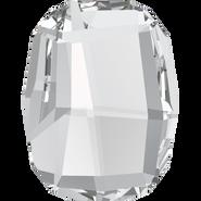 Swarovski Flatback 2585 - 10mm, Crystal (001) Foiled, No Hotfix, 288pcs