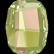 Swarovski Flatback 2585 - 10mm, Crystal Luminous Green (001 LUMG) Foiled, No Hotfix, 288pcs