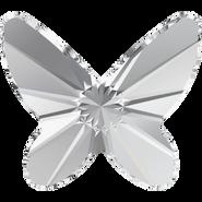 Swarovski Flatback 2854 - 12mm, Crystal (001) Foiled, 144pcs, No Hotfix