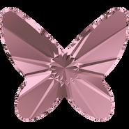 Swarovski Flatback 2854 - 8mm, Crystal Antique Pink (001 ANTP) Foiled, 216pcs, No Hotfix