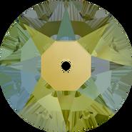 Swarovski Sew-on 3188 - 3mm, Crystal Iridescent Green (001 IRIG) Foiled, 1440pcs