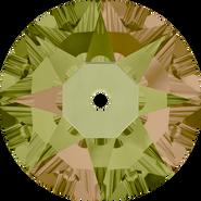 Swarovski Sew-on 3188 - 4mm, Crystal Luminous Green (001 LUMG) Foiled, 1440pcs