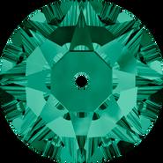 Swarovski Sew-on 3188 - 4mm, Emerald (205) Foiled, 1440pcs