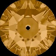 Swarovski Sew-on 3188 - 4mm, Light Colorado Topaz (246) Foiled, 1440pcs