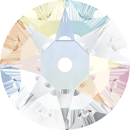 Swarovski Sew-on 3188 - 8mm, Crystal Aurore Boreale (001 AB) Foiled, 144pcs