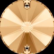 Swarovski Sew-on 3200 - 10mm, Crystal Golden Shadow (001 GSHA) Foiled, 72pcs