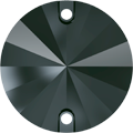 Swarovski Sew-on 3200 - 14mm, Jet Hematite (280 HEM) Unfoiled, 72pcs