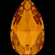 Swarovski Sew-on 3230 - 12x7mm, Crystal Copper (001 COP) Foiled, 96pcs