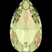 Swarovski Sew-on 3230 - 12x7mm, Crystal Luminous Green (001 LUMG) Foiled, 96pcs