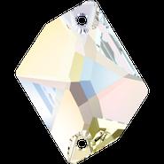 Swarovski Sew-on 3265 - 26x21mm, Crystal Aurore Boreale (001 AB) Foiled, 20pcs