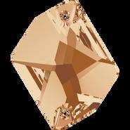Swarovski Sew-on 3265 - 26x21mm, Crystal Golden Shadow (001 GSHA) Foiled, 20pcs