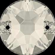 Swarovski Sew-on 3288 - 12mm, Crystal Moonlight (001 MOL) Foiled, 72pcs