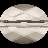 Swarovski Bead 5051 - 8x6mm, Crystal Silver Shade (001 SSHA), 288pcs