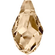Swarovski Pendant 6007 - 7x4mm, Crystal Golden Shadow (001 GSHA), 360pcs