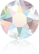 Swarovski Hotfix 2078 - ss16, Crystal Aurore Boreale (001 AB Advanced), Hotfix, 36pcs