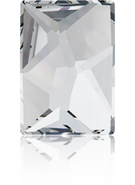 Swarovski Flatback 2520 - 14x10mm, Crystal (001) Foiled, No Hotfix, 2pcs