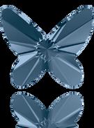 Swarovski Flatback 2854 - 12mm, Denim Blue (266) Foiled, 2pcs, No Hotfix