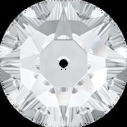 Swarovski Sew-on 3188 - 8mm, Crystal (001) Foiled, 12pcs