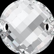 Swarovski Sew-on 3221 - 28mm, Crystal (001) Foiled, 1pcs