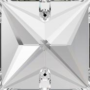 Swarovski Sew-on 3240 - 16mm, Crystal (001) Foiled, 2pcs
