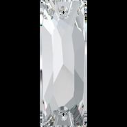 Swarovski Sew-on 3255 - 18x6mm, Crystal (001) Foiled, 2pcs
