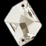 Swarovski Sew-on 3265 - 20x16mm, Crystal Silver Shade (001 SSHA) Foiled, 2pcs