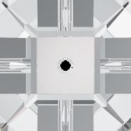 Swarovski Sew-on 3400 - 8mm, Crystal (001) Foiled, 9pcs