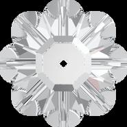 Swarovski Sew-on 3700 - 10mm, Crystal (001) Foiled, 6pcs