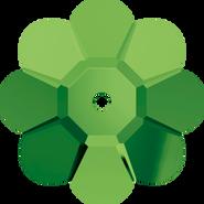 Swarovski Sew-on 3700 - 10mm, Dark Moss Green (260) Unfoiled, 6pcs