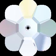 Swarovski Sew-on 3700 - 12mm, Crystal Aurore Boreale (001 AB) Unfoiled, 6pcs