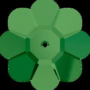 Swarovski Sew-on 3700 - 14mm, Fern Green (291) Unfoiled, 6pcs