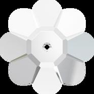 Swarovski Sew-on 3700 - 6mm, Crystal (001) Unfoiled, 24pcs