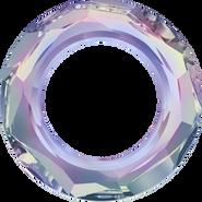 Swarovski Fancy Stone 4139 - 14mm, Crystal Vitrail Light (001 VL) Foiled, 2pcs