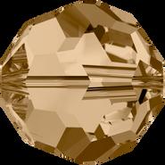 Swarovski Bead 5000 - 12mm, Crystal Golden Shadow (001 GSHA), 4pcs