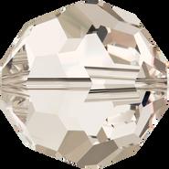 Swarovski Bead 5000 - 12mm, Crystal Silver Shade (001 SSHA), 4pcs