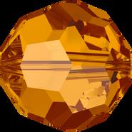 Swarovski Bead 5000 - 4mm, Crystal Copper (001 COP), 48pcs