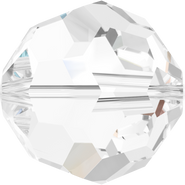 Swarovski Bead 5000 - 6mm, Crystal (001), 20pcs