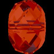 Swarovski Bead 5040 - 12mm, Crystal Red Magma (001 REDM), 4pcs
