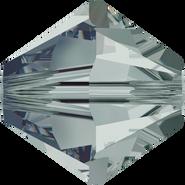 Swarovski Bead 5328 - 6mm, Black Diamond (215), 20pcs