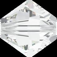 Swarovski Bead 5328 - 6mm, Crystal (001), 20pcs